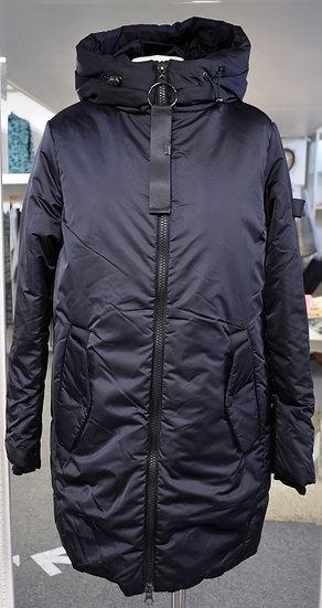 Rino & Pelle Navy Padded Hooded Coat