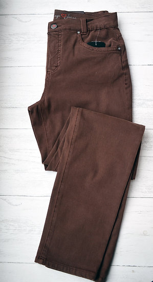 Anna Montana Brown Slim Fit Jeans