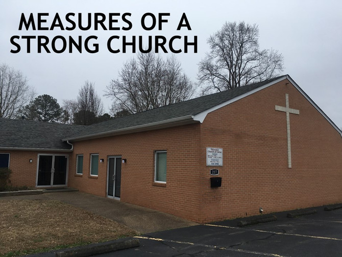 Measures of a Strong Church