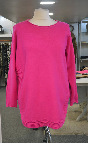 Ribbed Hem Jumper - 4 Colours Available