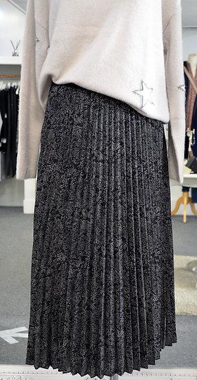 Rails Delphine Slate Python Skirt