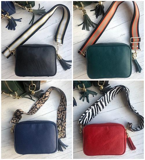 Elie Beaumont Crossbody Leather Bag - Mix & Match