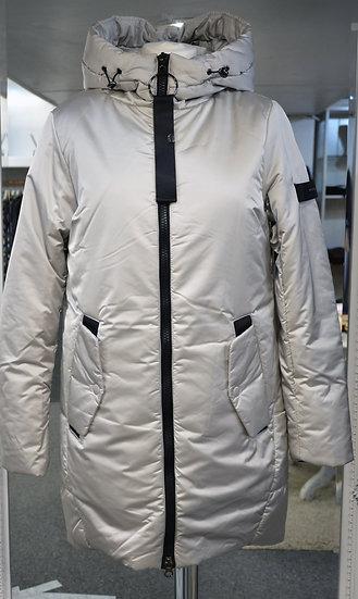 Rino & Pelle Silver/Beige Padded Coat