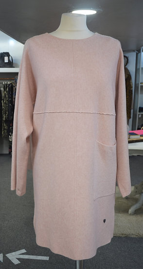 Longline Jumper with Pocket - 3 Colours Available