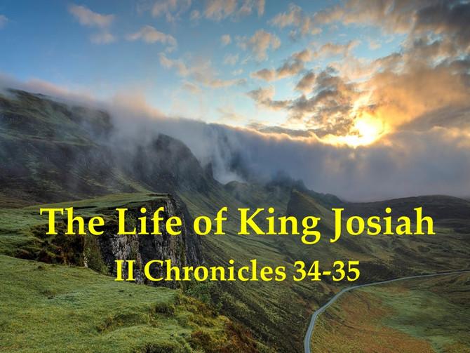 The Life of King Josiah
