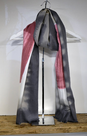 Grey & Yellow/Pink Scarf - 2 Colours Available
