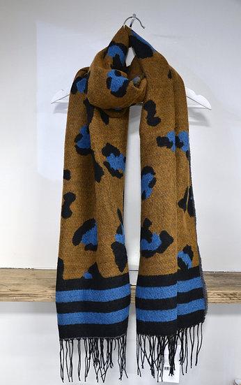 Rino & Pelle Leopard Print Scarf