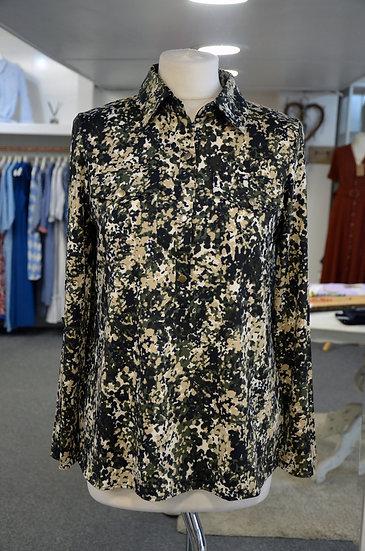 K-Design Khaki Print Blouse