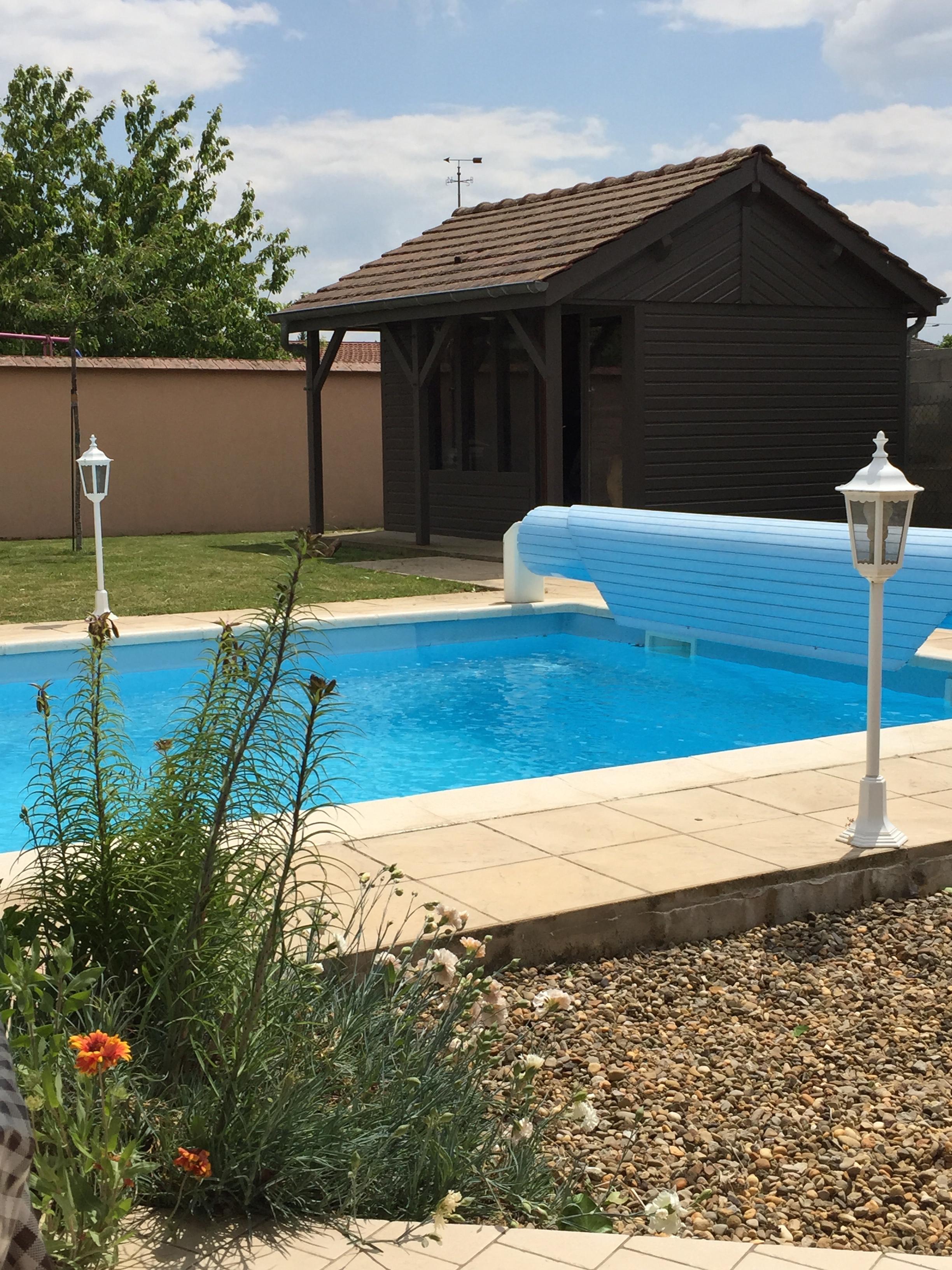 Gite piscine 6 personnes à Beaune