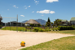 Beach Volleybal & Swimming pool area