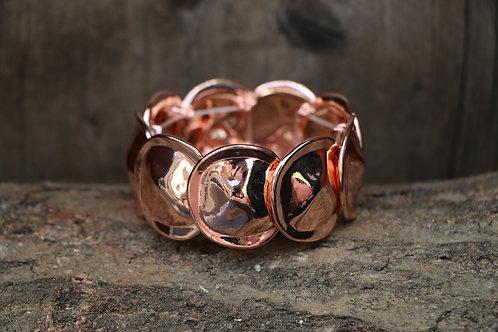 Circular Bracelet - Rose Gold