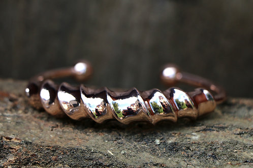 Twisted Bracelet - Rose Gold