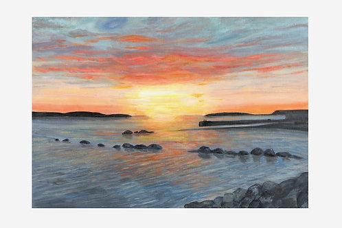 Galway Sunset (Galway Bay, Ireland)