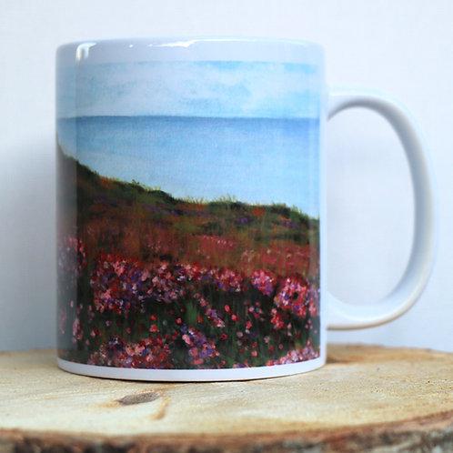 Heather Cliff (Dunwich Heath, Suffolk) 11 oz Mug
