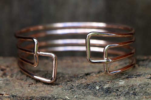 Art Deco Bracelet - Rose Gold