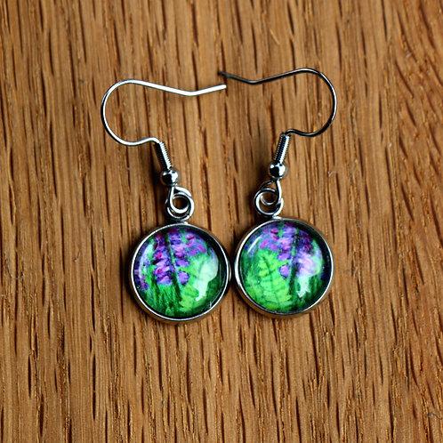 Foxglove & Fern Earrings