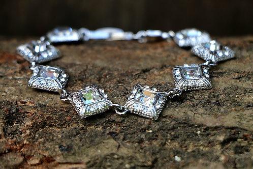Art Deco Style Diamante Bracelet