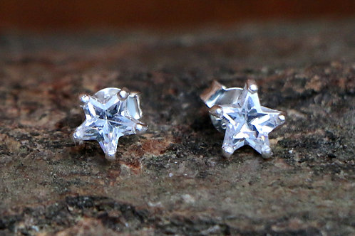 Diamante Star Ears