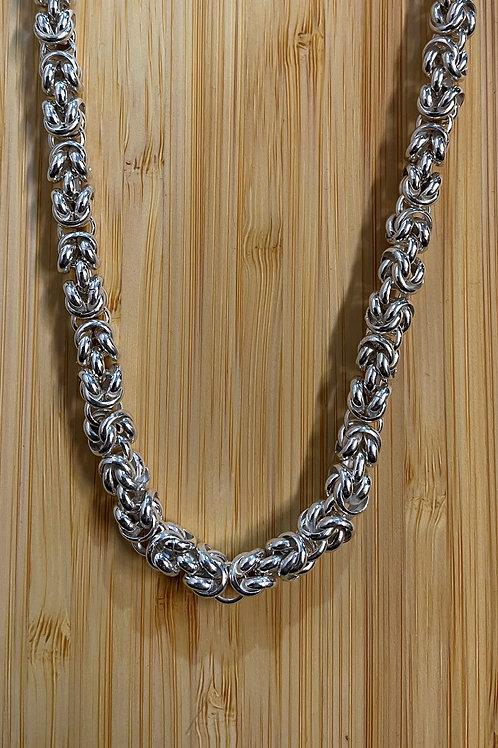 Basket weave Necklace