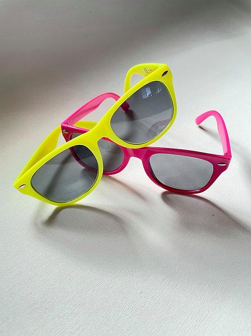 Sluneční brýle s potiskem