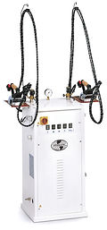 Удобный напольный стационарный парогенератор для двух операторов