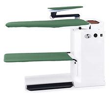 Стол гладильный с рукавной платформой, педалью вакуума и рукавной платформой, нагрев поверхности