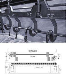 Удобная система для максимального использования пространства конвейера.