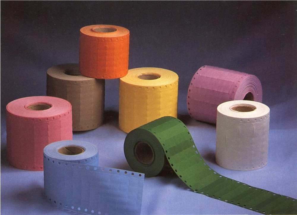 маркировочная лента в рулонах для маркировки в химчистке