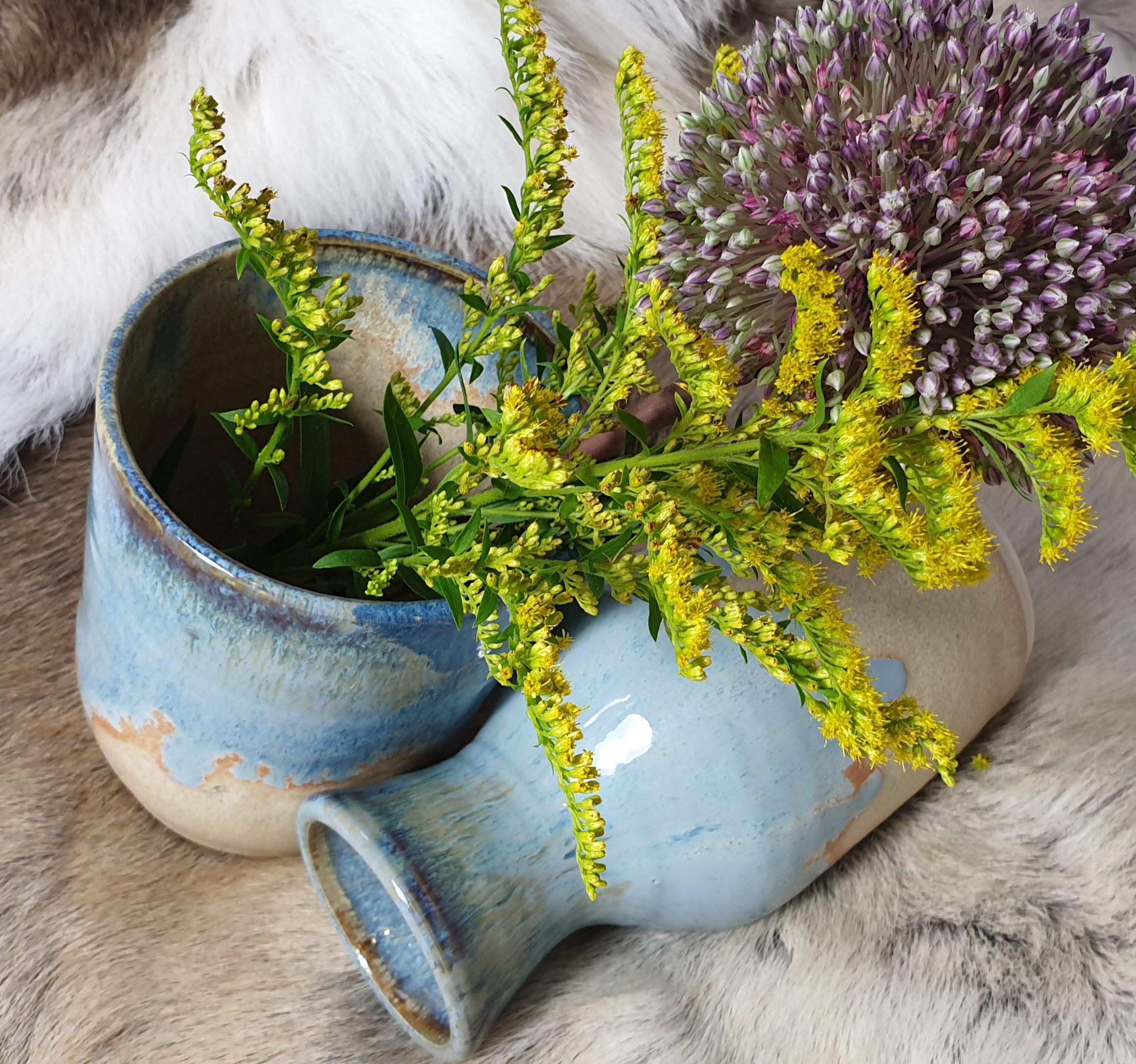 Wheel Thrown Pottery Vases
