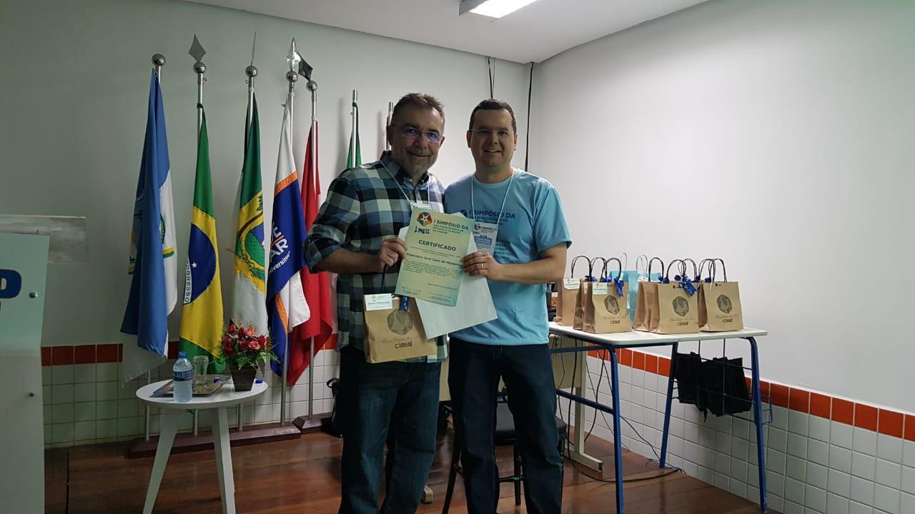 Dr. Cure de Medeiros e Dr. Jensen Fernandes F