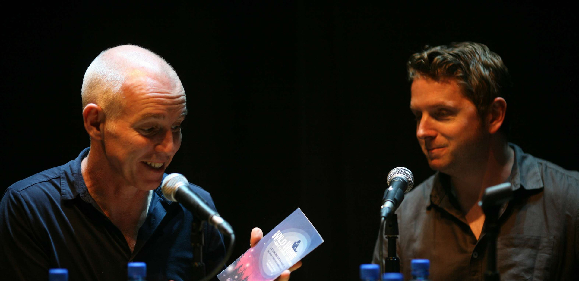 Ray D'Arcy with Matt Griffin