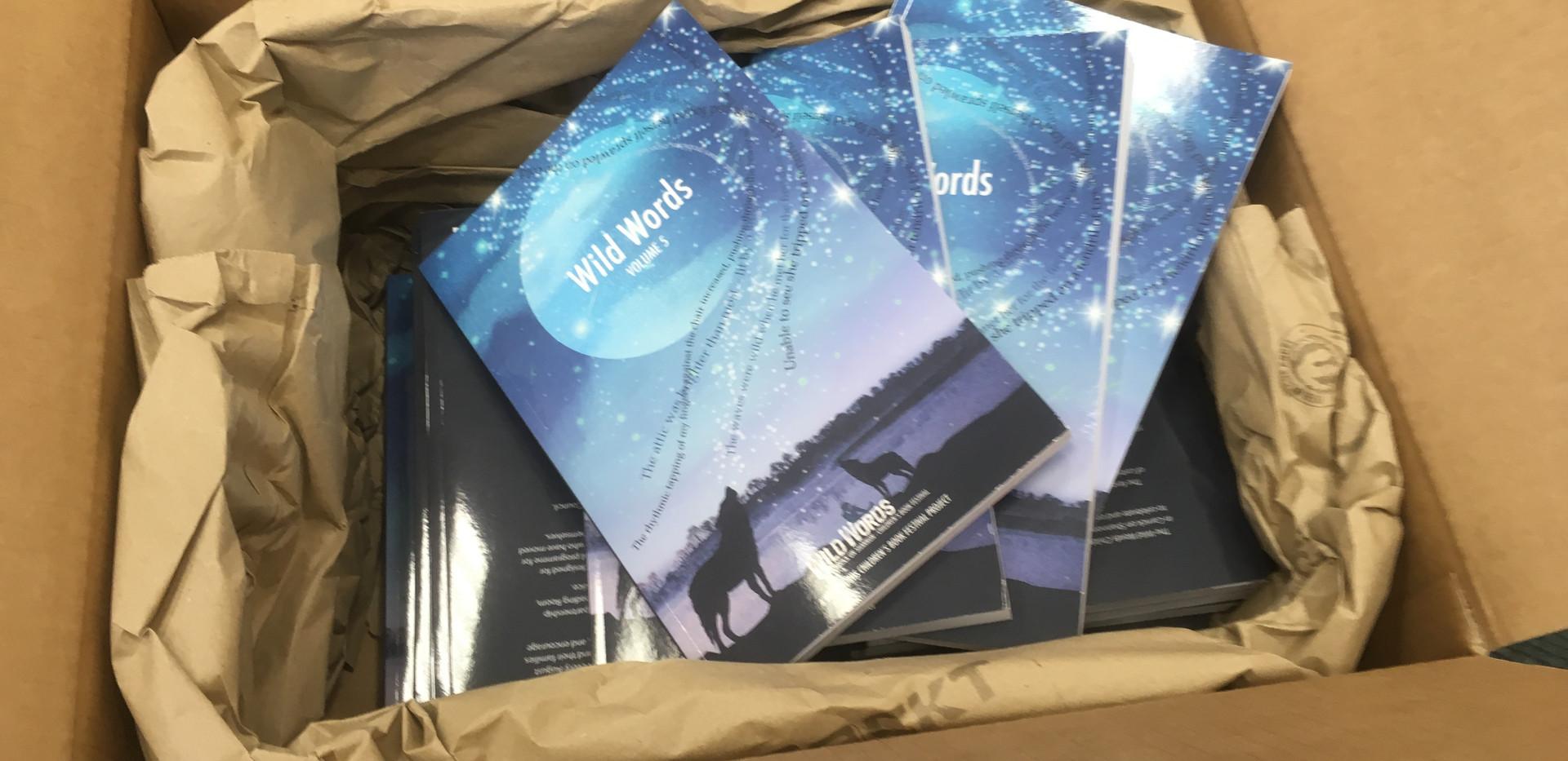 The books arrive