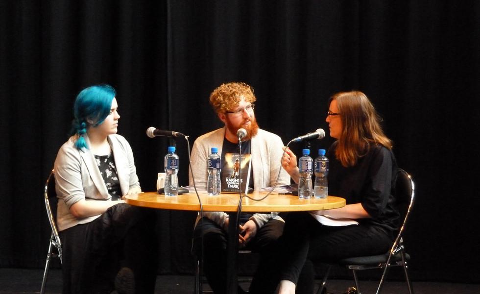 Eilís Barrett & Dave Rudden with Alison Curtis