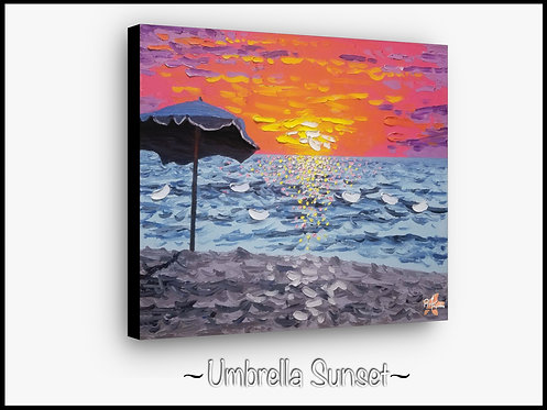 Umbrella Sunset