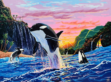 Triumph of the Orcas