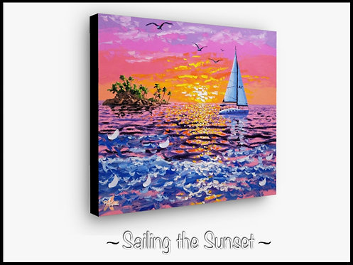 Sailing the Sunset