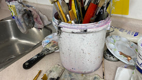 Greening Your Art Practice: Clean-Up Tips
