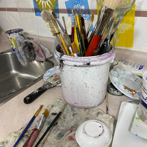 Greening Your Art Practice: Clean-Up Tips