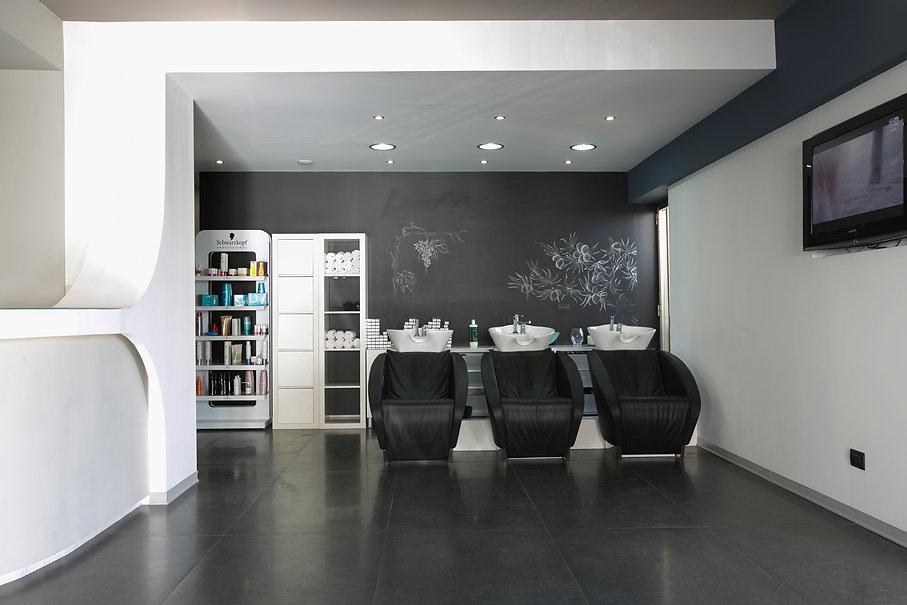 scatti fotografici interni per parrucchieri