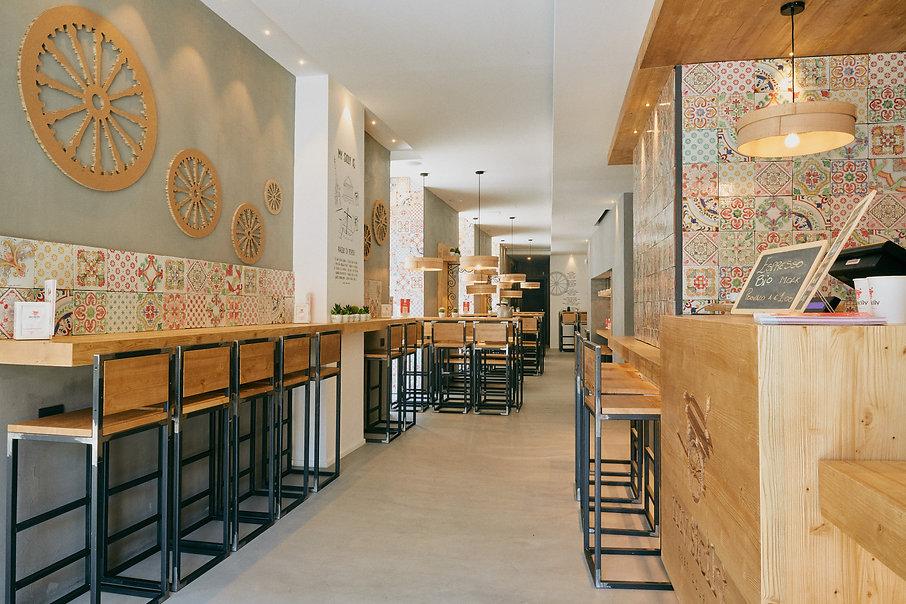 foto di interni per ristoranti e bar