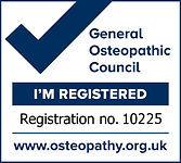 Ian Thornley - Registered Osteopath 10225