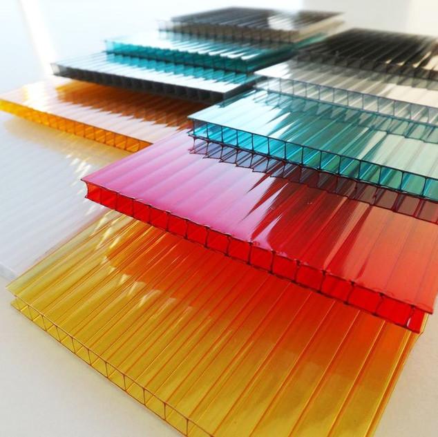 Colores lamina policarbonato