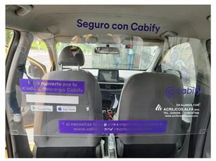 Pantalla Bioporteccion Taxis