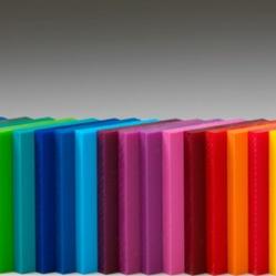 Lamina en acrilico color