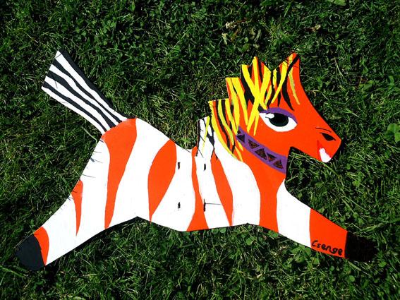 Csenges Zebra