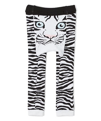 DOODLE Pants / Leggins White Tiger