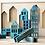 """Thumbnail: KOLEKTO 3D-Puzzle und Spielhaus """"Metropol blue"""" aus Holz"""