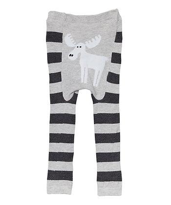 DOODLE Pants / Leggins Grey Moose