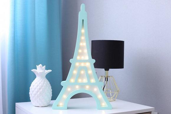 HAPPYMOON Nachtlampe LED Eiffelturm in 2 Farben