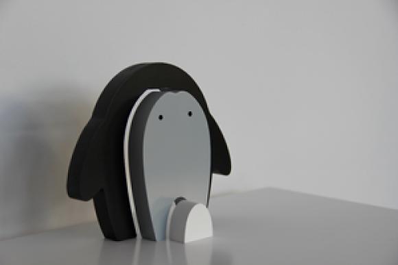 PIXISTUFF Stapenfigur Pinguin